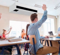 WHISPER AIR is DE unit voor decentrale ventilatie op school