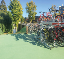 Triflex ProPark systeem Coffee and Bikes