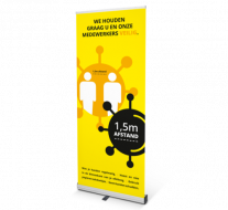COVID-19 roll-up banners - Geel