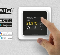 Nieuw: MAGNUM Remote Control slimme wifi thermostaat