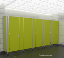 Comby sanitaire cabine op pootjes h2230