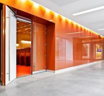 AGC Flat Glass - Lacobel gelakt glas - copper rich 0128