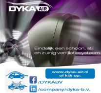 DYKA AIR ventilatiesysteem