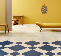 Thomas Eurlings' Marmoleum Modular vloer voor Forbo Flooring