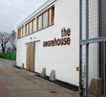 Buitengevel awarehouse