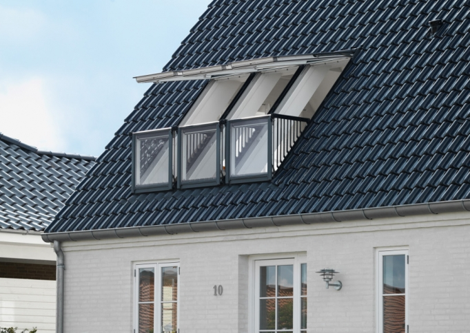 velux dakterrasvensters en balkonvensters nbd online product. Black Bedroom Furniture Sets. Home Design Ideas