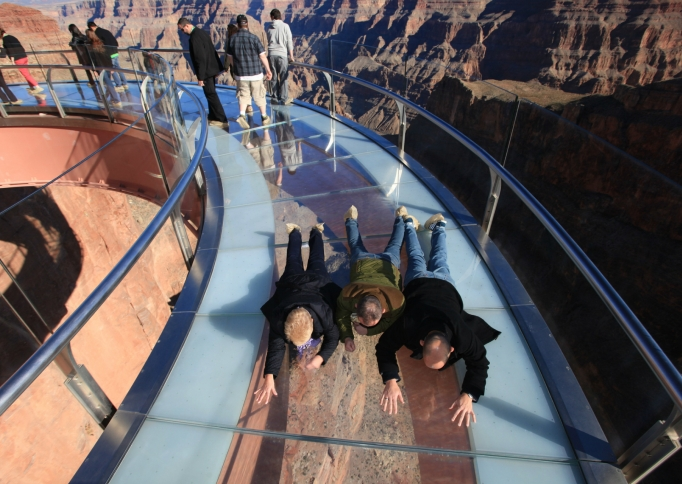 Skywalk Grand Canyon, foto: Gary Bembridge on Flickr