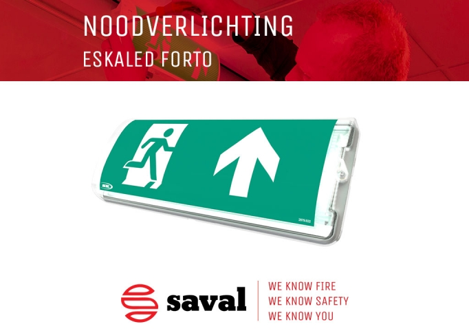 Noodverlichting ESKALED FORTO Saval