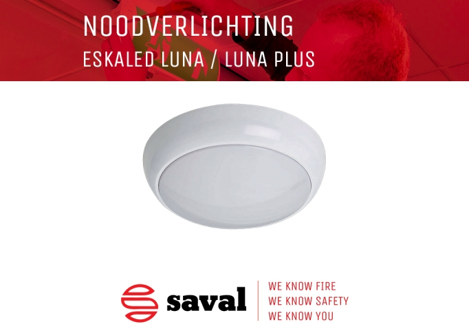 Noodverlichting ESKALED LUNA Saval