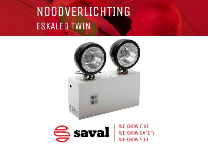 Noodverlichting ESKALED TWIN Saval