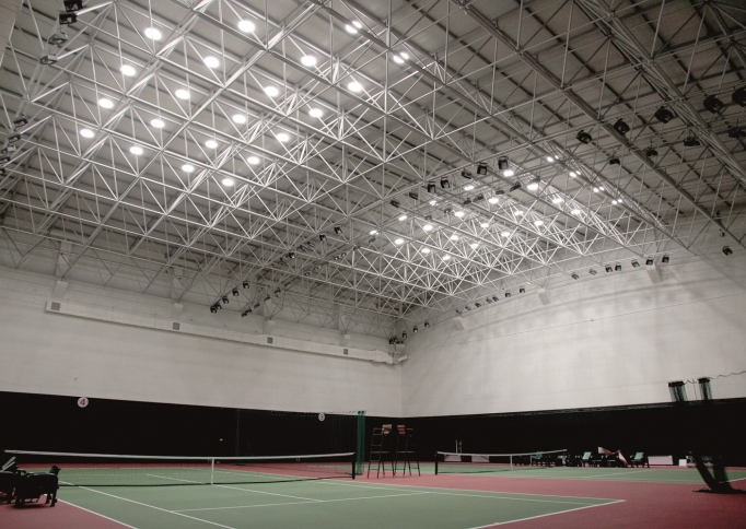 Techcomlight SolaTube in Beijing Tennis Stadium