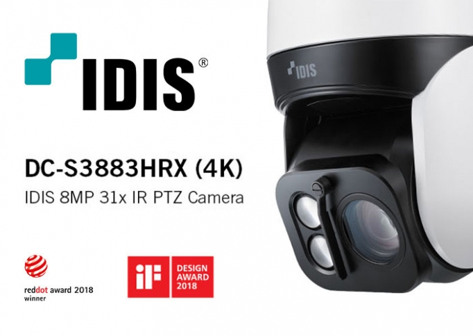 IDIS camera-observatietechniek is echt anders!
