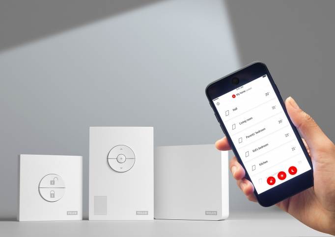 VELUX ACTIVE with NETATMO smart home system