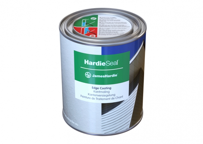 James Hardie™ HardieSeal edge coating voor HardiePlank®