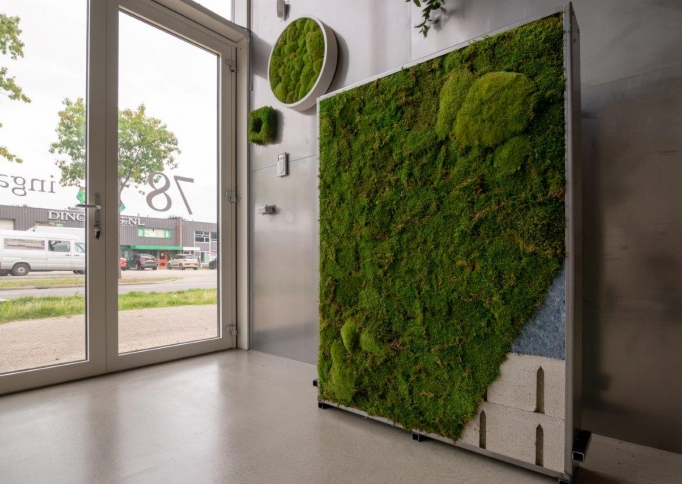 Soundbloxx Greenwall met mos