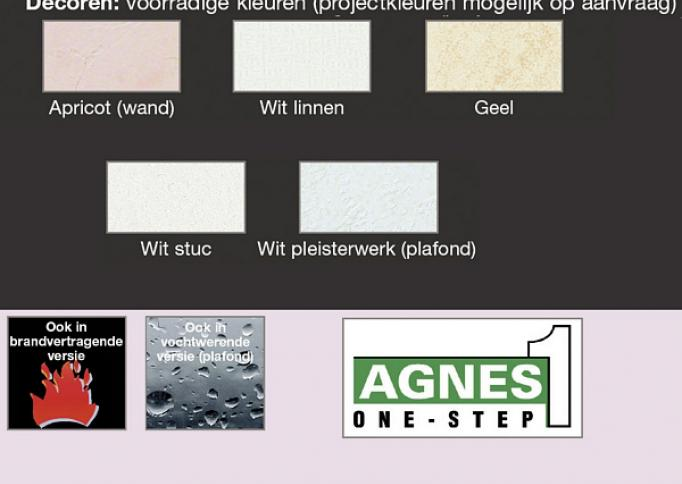Agnes One-Step Plafondpanelen en wandpanelen, kant-en-klare decoratieve panelen