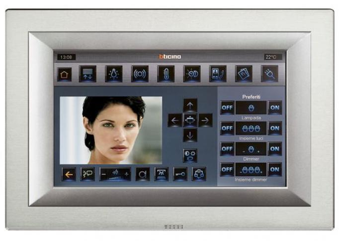 BTicino Axolute multimedia touchscreen 10 inch