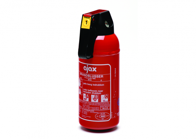 Chubb Fire & Security, poederblusser GD2-G